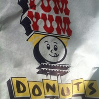 Photo taken at Yum Yum Donuts by Chris L. on 2/19/2013