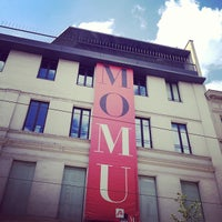 Photo taken at MoMu Antwerp - ModeMuseum Provincie Antwerpen by Anne D. on 8/3/2013
