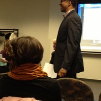 Photo taken at WSU David Adamany Undergraduate Library by Jerome E. on 11/27/2012