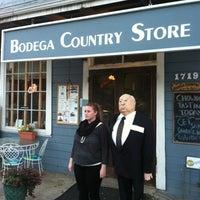 Photo taken at Bodega Country Store by Amanda K. on 10/22/2012