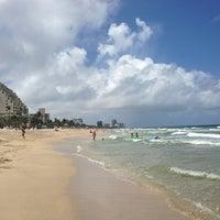6/10/2013 tarihinde meredith k.ziyaretçi tarafından Fort Lauderdale Beach'de çekilen fotoğraf