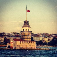 Photo taken at Maiden's Tower by yılmaz a. on 7/11/2013