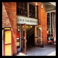 Photo taken at San Francisco Cable Car Museum by Brazhole on 5/11/2013