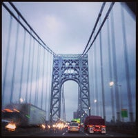 Photo taken at George Washington Bridge by Ross G. on 7/13/2013