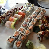 Photo taken at Sushi Room by katherine c. on 7/17/2013
