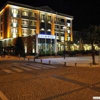 7/11/2013 tarihinde Gozde O.ziyaretçi tarafından Büyük Truva Oteli'de çekilen fotoğraf