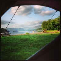 Photo taken at Derwentwater Camping and Caravanning Club Site by Kevin C. on 7/6/2013