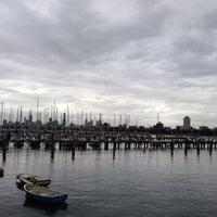 Photo taken at St Kilda Beach by Shamirah D. on 7/1/2013