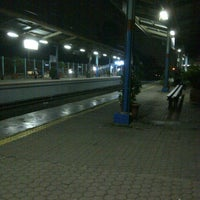 Photo taken at Stasiun Pondok Cina by Edberg A. on 5/3/2013