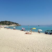 Photo taken at Armenistis Beach by Safe S. on 6/16/2013