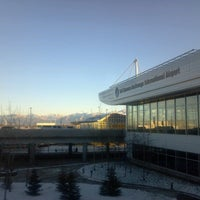 Photo taken at Ted Stevens Anchorage International Airport (ANC) by Jacob A. on 11/25/2012