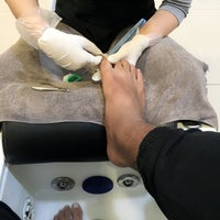 Photo taken at Mico Foot & Nail Spa by Dato' Rostam T. on 4/12/2016