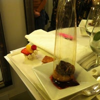 Photo taken at Le 144 - Restaurant Petrossian by Camsurmer on 11/26/2013