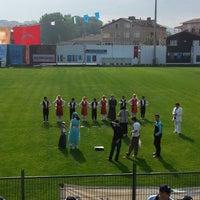 Photo taken at Yusuf Ziya Öniş Stadyumu by Tolga Y. on 6/5/2013