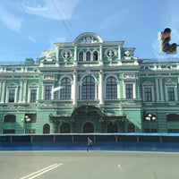 Снимок сделан в БДТ им. Г. А. Товстоногова пользователем Andrei S. 4/26/2014