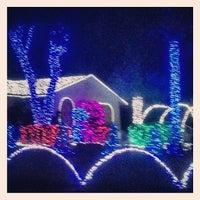 Photo taken at Vana Family Light Show by Brad B. on 12/14/2013
