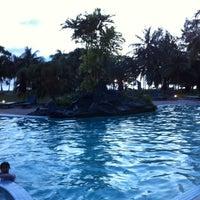 Photo taken at Mutiara Resort Pool by Sandra D. on 12/26/2012