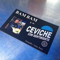 Photo taken at bam bam y su ceviche con sentimiento by Rodrigo V. on 3/29/2014