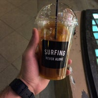 Photo taken at Surf Coffee by Alexander E. on 5/2/2016