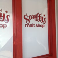 Photo taken at Snuffy's Malt Shop by Kathleen R. on 4/26/2013
