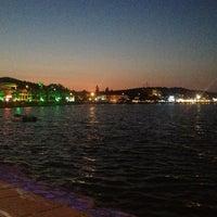Photo taken at Yali Restorant Mordogan by İpek on 7/14/2013