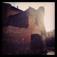 Photo taken at Bocciofila Via Del Progresso by Leonardo D. on 6/17/2015
