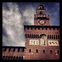 Foto scattata a Castello Sforzesco da Leonardo D. il 2/8/2013