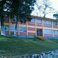 Photo taken at Grupo Escolar Cervantes by Alejandro B. on 1/15/2014