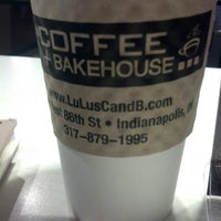 Photo taken at Lulu's Coffee and Bakehouse by Allison B. on 3/6/2013
