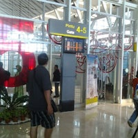 Photo taken at Gate 4 by Dhanar A. on 10/16/2012