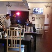 Photo taken at Кафе-бар Джинн by Nikita K. on 3/27/2013
