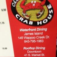 Photo taken at Charleston Crab House by Scott S. on 12/30/2012