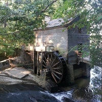Photo taken at Grist Mill / Stone Mountain Park by Bill B. on 9/7/2013
