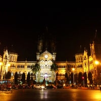 Photo taken at Chhatrapati Shivaji Terminus by Chanda on 12/17/2012