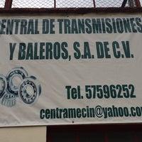 Photo taken at Central De Transmisiones Y Baleros by Garcia R. on 9/10/2014