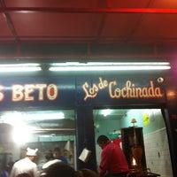 Foto tomada en Tacos Beto por Garcia R. el 10/1/2012