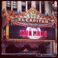 Photo taken at El Capitan Theatre by Blayne A. on 4/26/2013