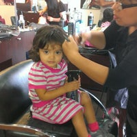 Photo taken at Giorgio's Salon and Spa by Victor L. on 9/28/2013
