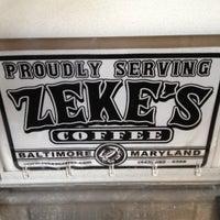 Photo taken at Zeke's Coffee (retail) by Gillian B. on 11/4/2012