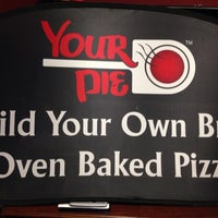 Photo taken at Your Pie Pizza by Courtney A. on 1/25/2014