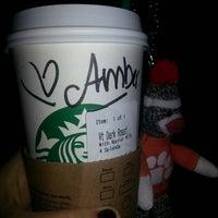 Photo taken at Starbucks by Amber on 3/19/2013