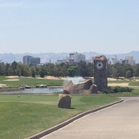 Photo taken at Desert Pines Golf Club and Driving Range by Jer M. on 5/4/2013