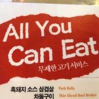 Photo taken at Cham Sut Gol Korean BBQ by Cathy C. on 11/9/2012
