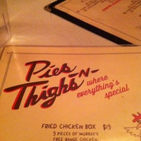 Photo taken at Pies 'n' Thighs by Scott F. on 10/13/2012