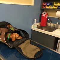 Photo taken at Sunset Veterinary Hospital by Casey S. on 9/27/2014