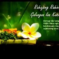 Photo taken at Puri Oka Marga by Agung P. on 3/26/2013