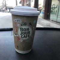 Photo taken at Bonjour Cafe by Ntina K. on 2/28/2018