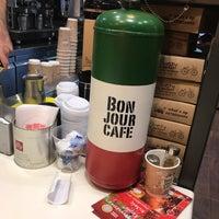 Photo taken at Bonjour Cafe by Ntina K. on 12/27/2017