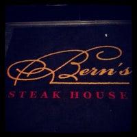 Photo taken at Bern's Steak House by Jason D. on 4/29/2013