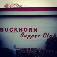 Photo taken at Buckhorn Supper Club by Jason D. on 10/18/2014
